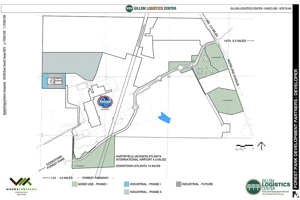 GLC Mixed Use for Sale Site Map