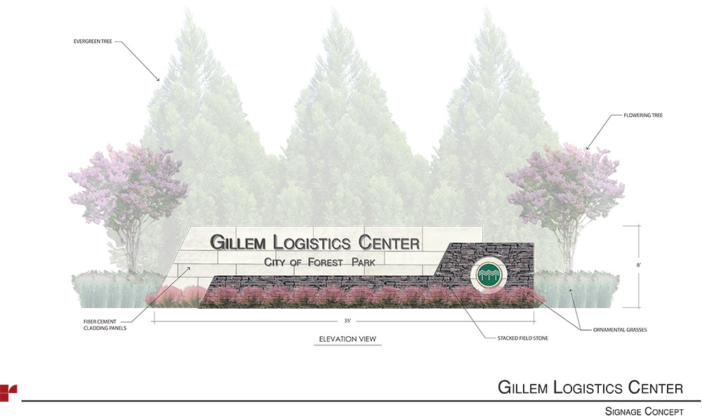 Gillem Logistics Center Signage Concepts Final